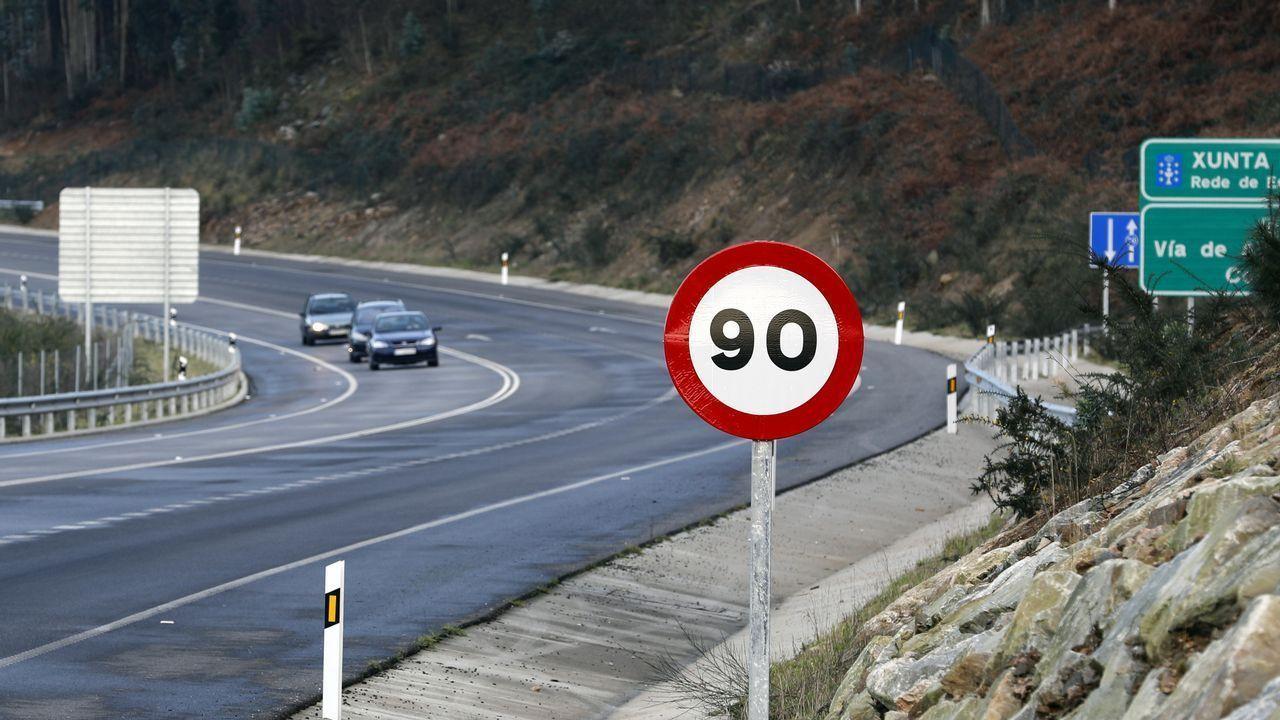 A partir de este martes, la máxima velocidad en carreteras secundarias es de 90 kms/hora