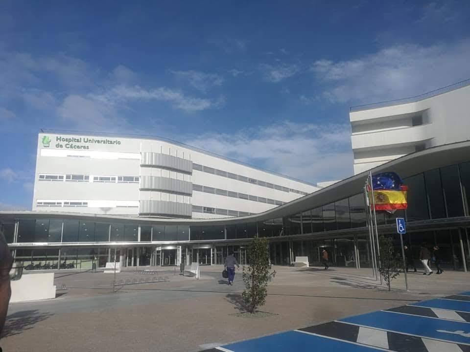 La primera fase del Hospital Universitario de Cáceres abre sus puertas a los usuarios