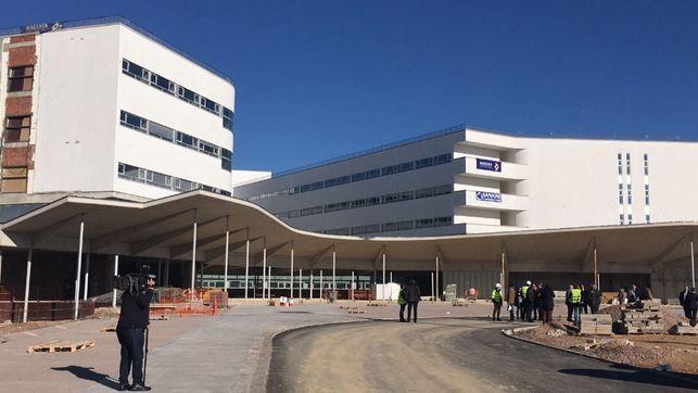 La apertura de consultas del Hospital Universitario de Cáceres será el próximo 30 de enero
