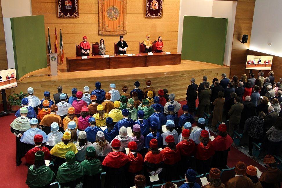 El Rector de la UEx, Antonio Hidalgo, apuesta por la retención del talento en Extremadura