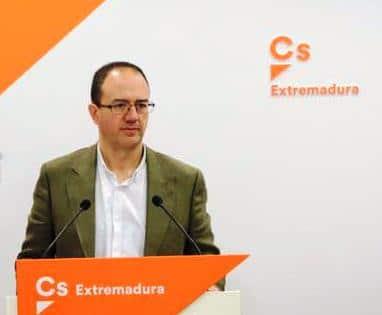 Cayetano Polo, candidato a las primarias para ser candidato a la presidencia de la Junta de Extremadura por Ciudadanos