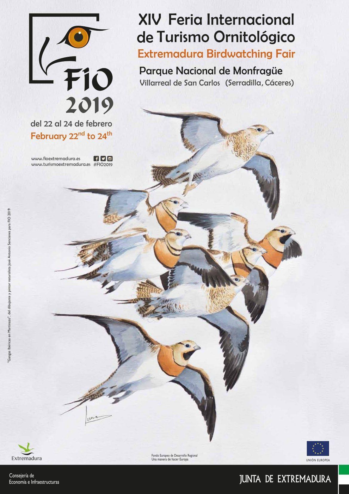 Desde FIO, Monfragüe será de nuevo el centro europeo del turismo de naturaleza y observación de aves