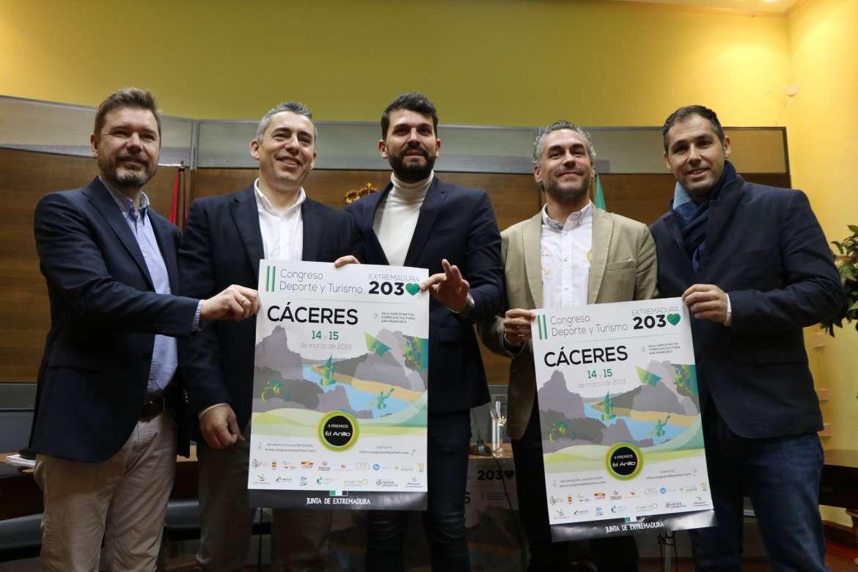 Presentado el II Congreso 'Deporte y Turismo Extremadura 2030'