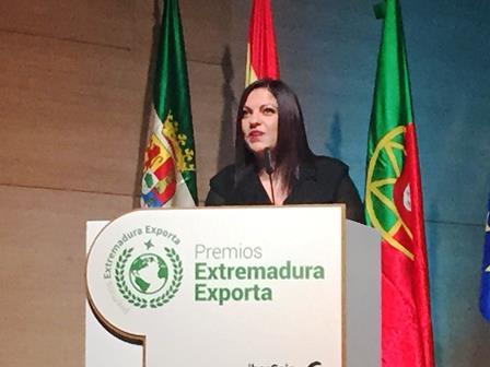Marita Rial, Premio Extremadura Exporta 2019