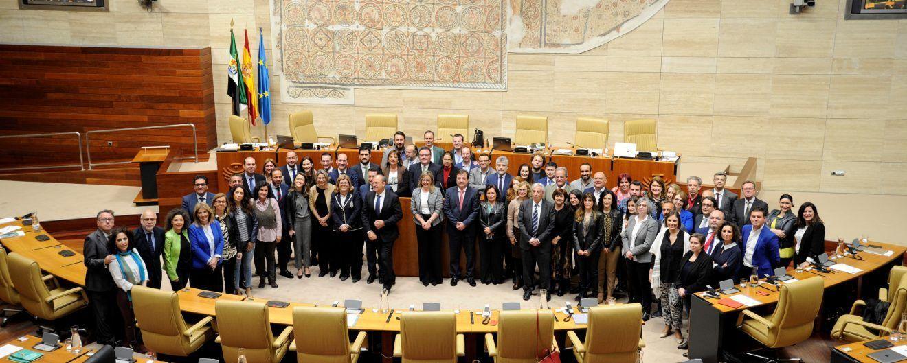 Última sesión plenaria de la Asamblea de Extremadura