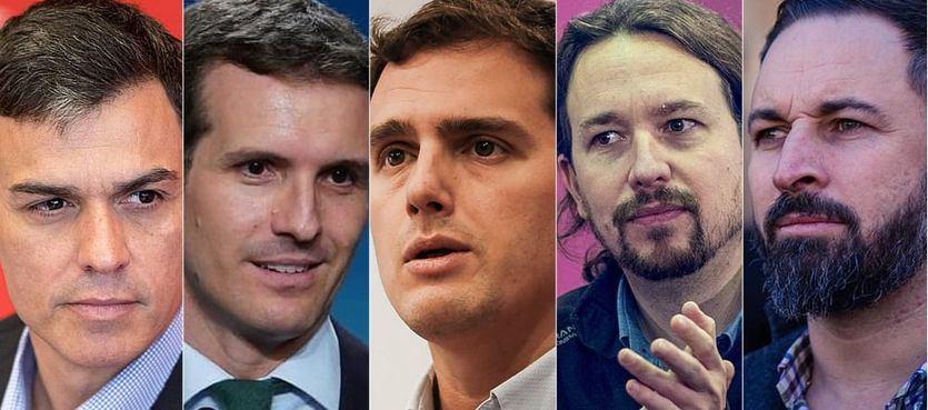 Disparidad de reacciones ante la macroencuesta del CIS que da la victoria al PSOE