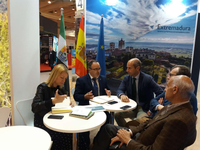 Extremadura, Alentejo y Centro de Portugal definen las próximas acciones de promoción de EUROACE en China, EEUU y Canadá