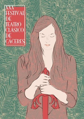 Virgina Rivas diseña el cartel del 30 Festival de Teatro Clásico de Cáceres