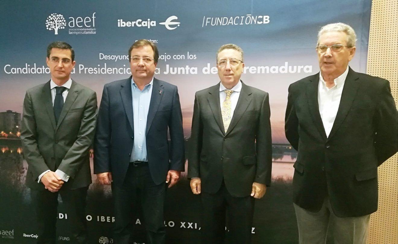 Fernández Vara : Extremadura cuenta con el marco jurídico más favorable del país para el establecimiento de empresas