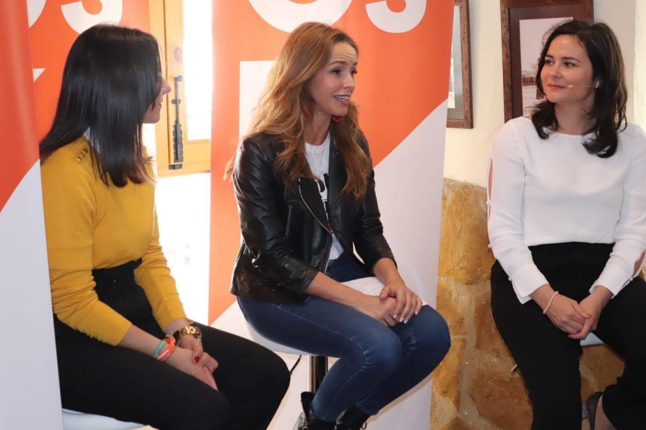 Patricia Reyes,Ciudadanos, defiende que Extremadura tiene mucho potencial y desde el Congreso se luchará para darle lo que se merece