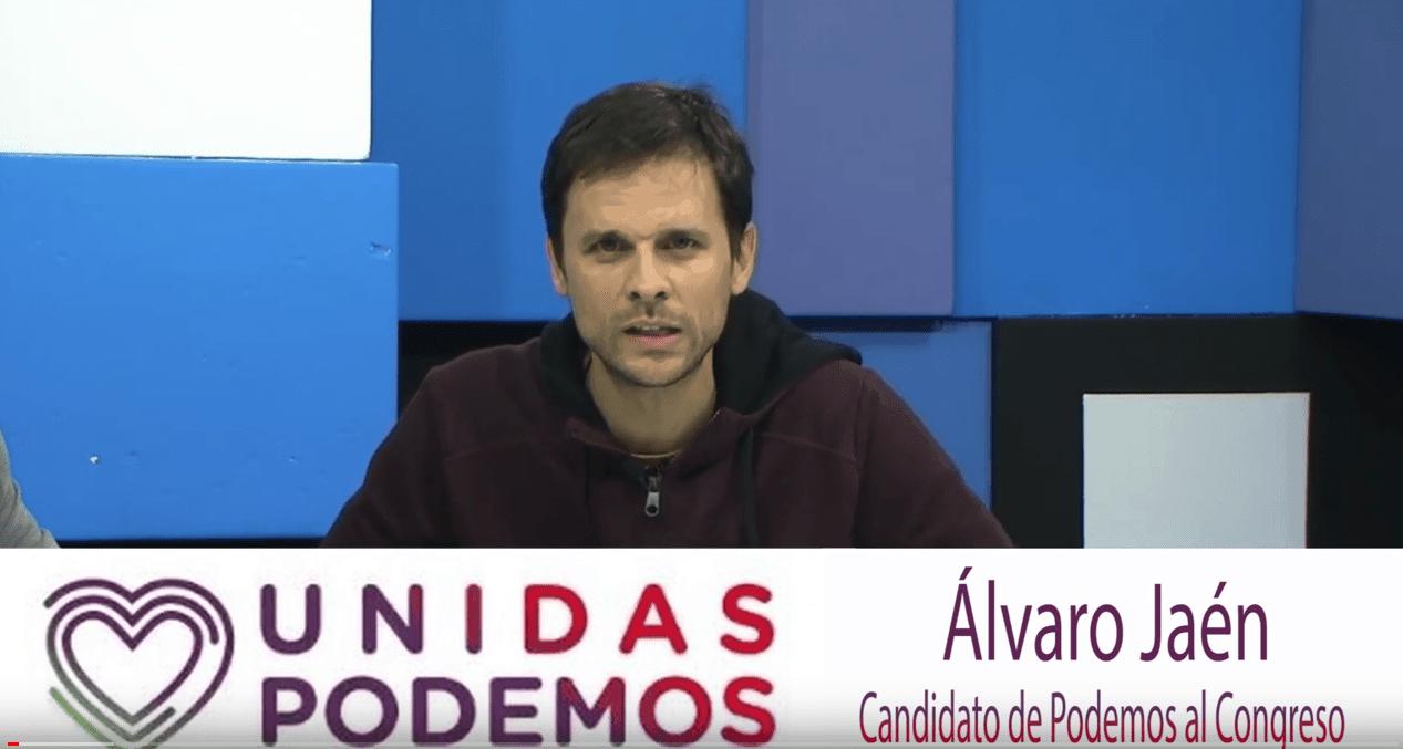 Entrevista con Álvaro Jaén, candidato nº 1 de Unidas Podemos al Congreso, por Cáceres