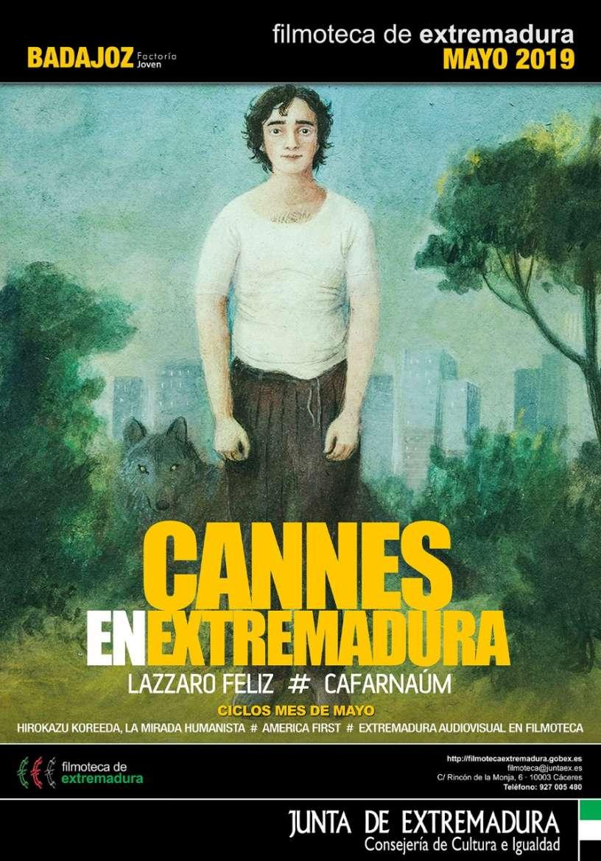 5 ciclos de cine en la nueva programación de la Filmoteca extremeña en mayo