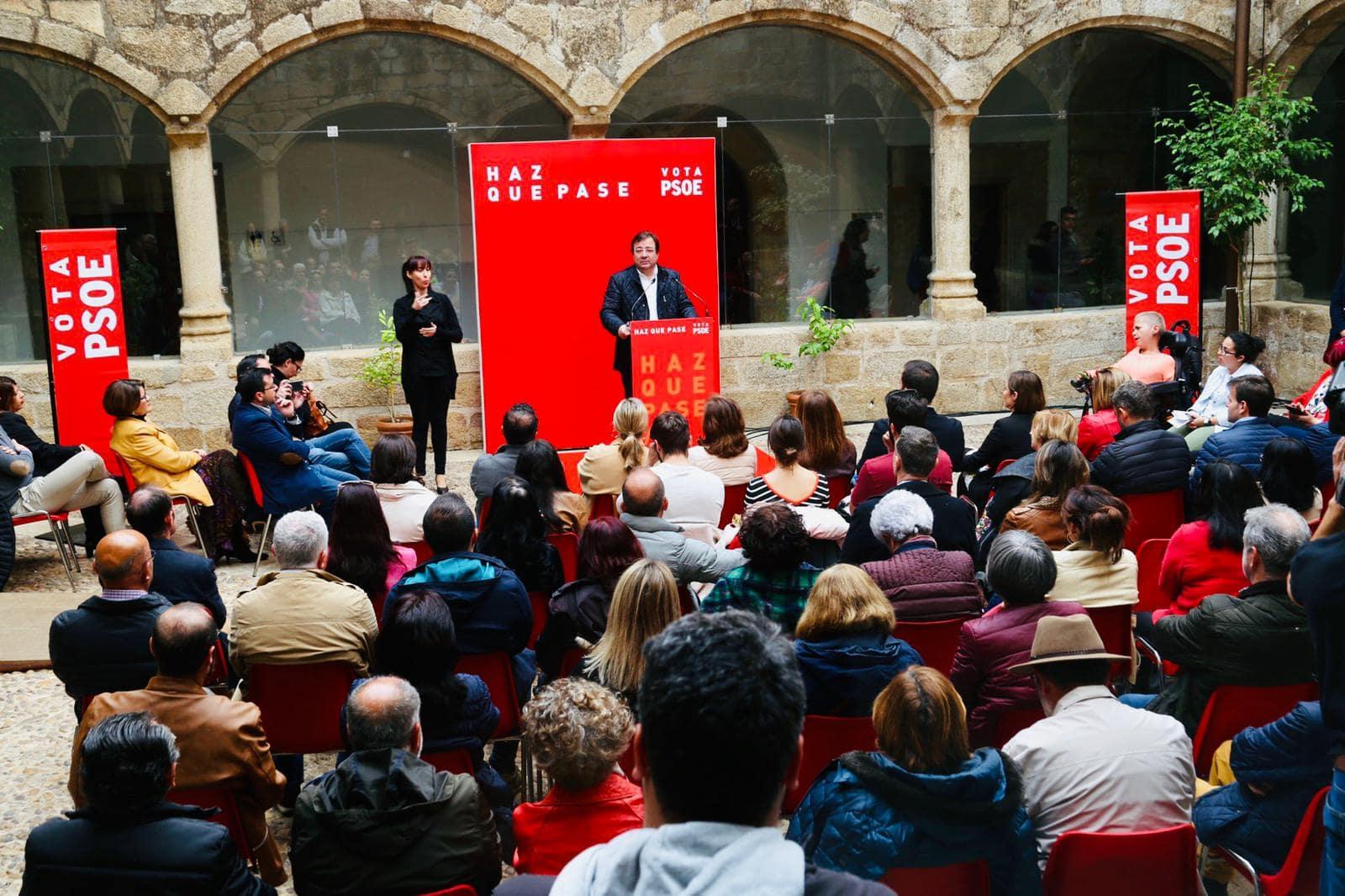 Vara, PSOE: Lucha sin cuartel contra la desigualdad