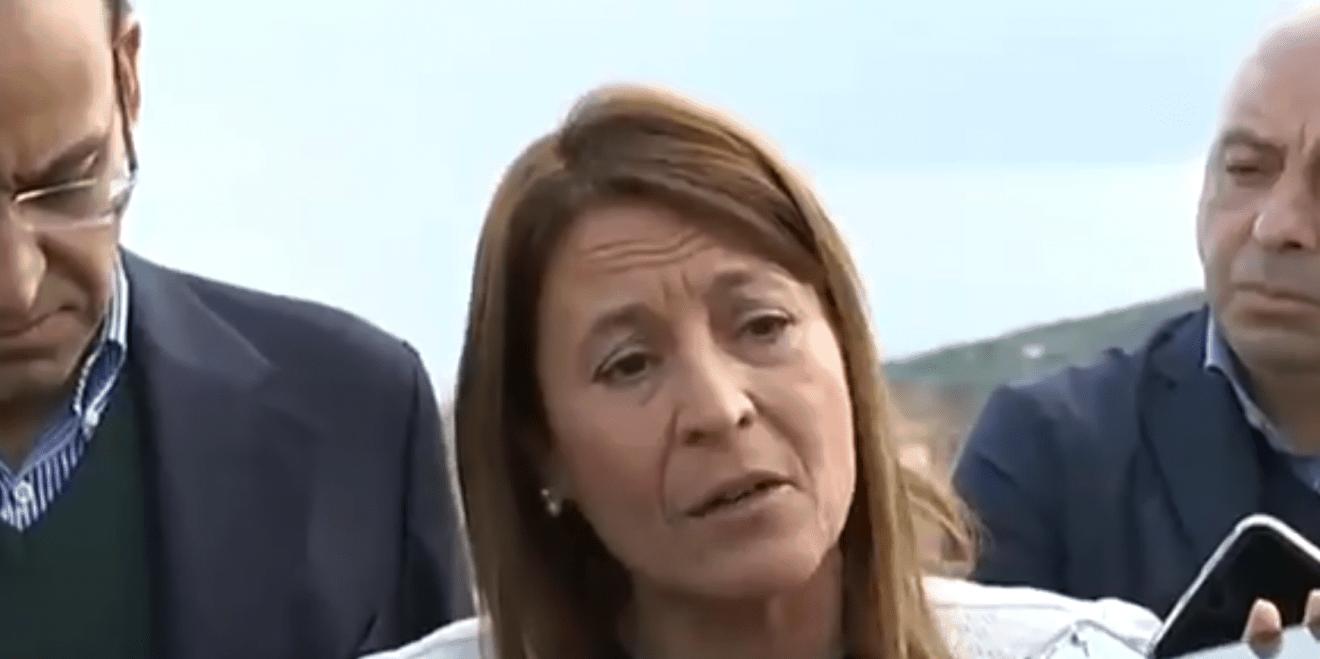 """Reacción de Nevado a su defenestración como candidata a la alcaldía de Cáceres: """" No quiero ser la causa de ningún retroceso, no quiero ser ningún estorbo """""""