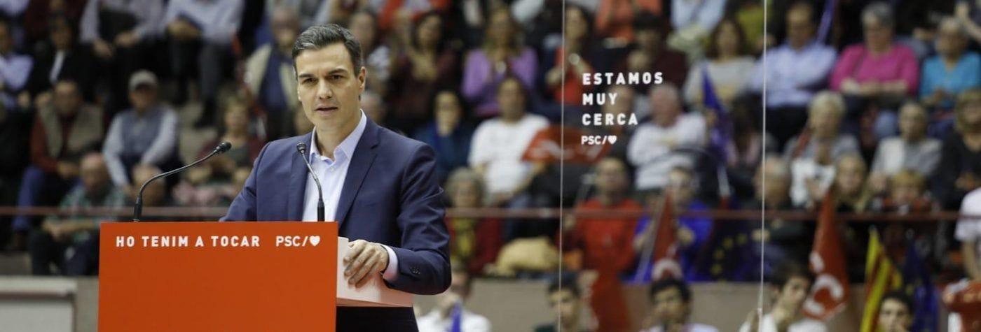 """Sánchez: """"Propongo una España unida en su diversidad que avanza en justicia social, convivencia y limpieza"""""""