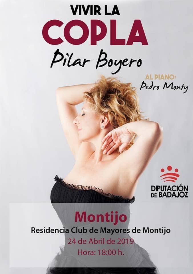 Pilar Boyero, la Diva de la copla,  y el pianista Pedro Monty: edición 100 de un proyecto extraordinario