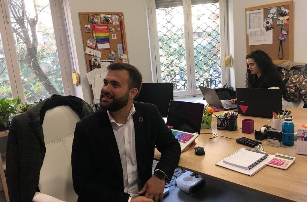 Luis Salaya se compromete a crear una concejalía de Igualdad y Diversidad