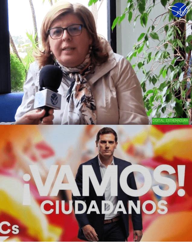 Entrevista a Mª Victoria Domínguez, Candidata nº1 de Ciudadanos al Congreso de los Diputados por Cáceres