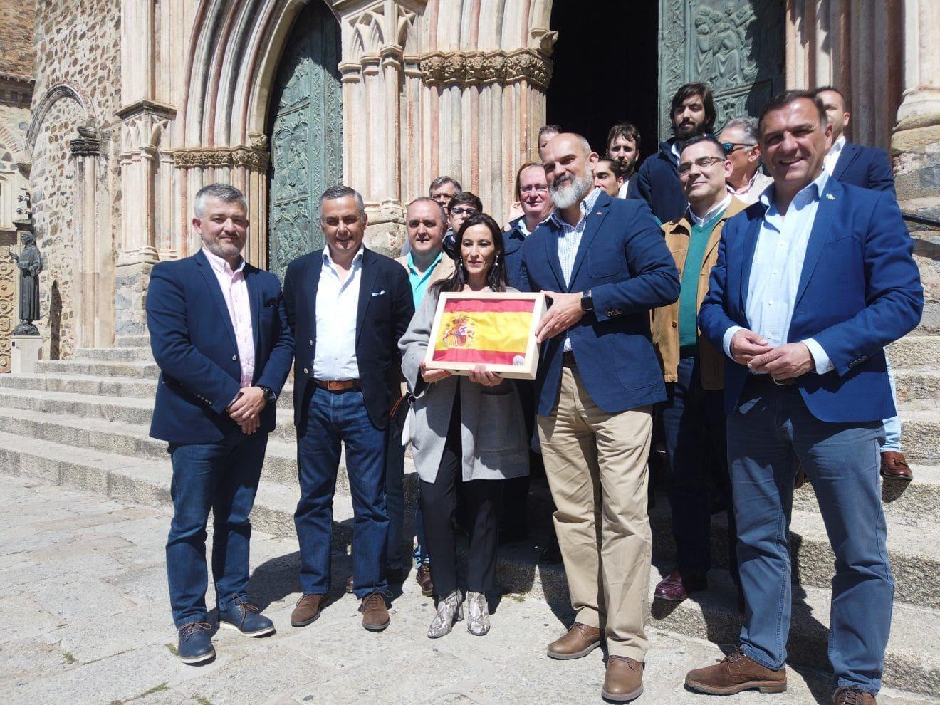 VOX celebra un acto en Guadalupe con los candidatos al Congreso, Nevado y Sánchez del Real