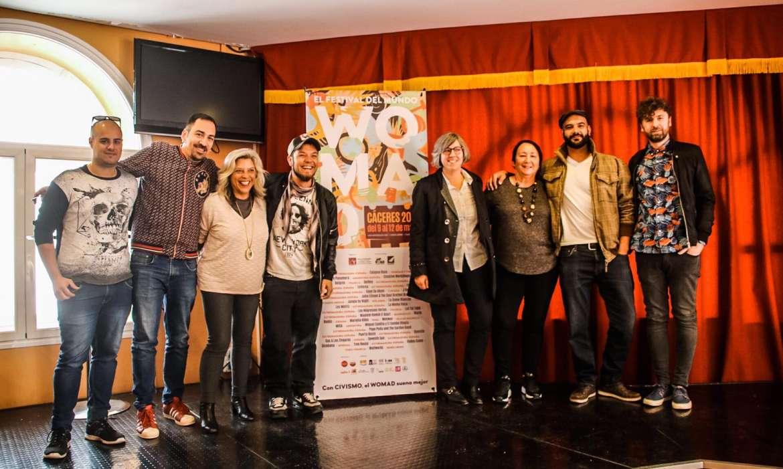 32 grupos y solistas de catorce países difunden su mensaje de música y tolerancia en WOMAD Cáceres 2019 del 9 al 12 de mayo