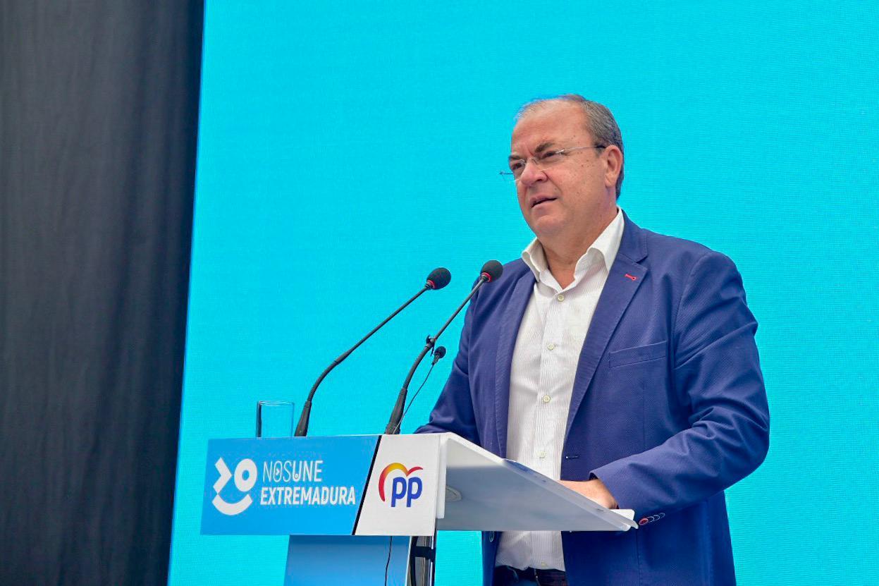 """Monago anuncia un marco normativo """"sin trabas"""" para que las empresas y las personas se desarrollen en libertad"""