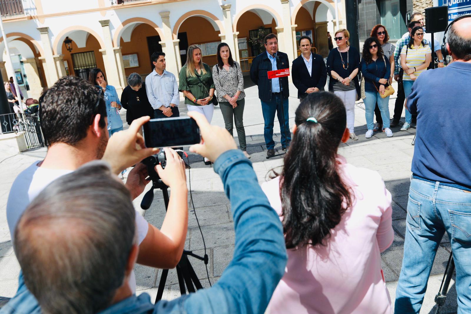 Vara: Extremadura ha alcanzado los 2.000 millones de euros en exportaciones