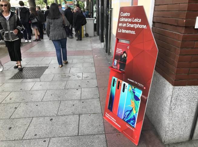 Paralizado el lanzamiento de algunos móviles Huawei
