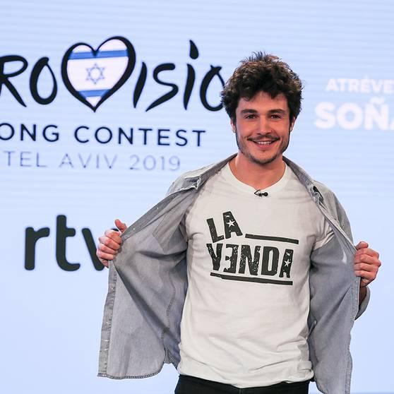 MIki, con La venda intentará dejar a España en buen lugar en el el 64º festival de Eurovisión