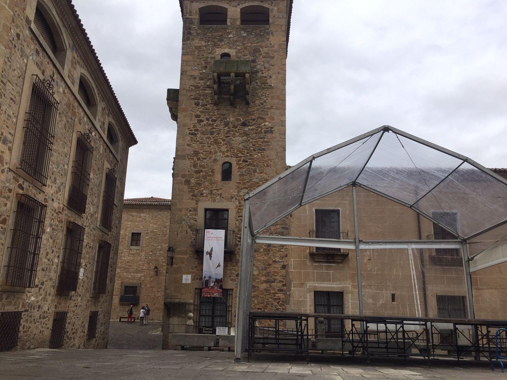 WOMAD Cáceres 2019 estrenará nuevos cerramientos artísticos y decorativos en la plaza Mayor y un escenario cubierto en la plaza de San Jorge.