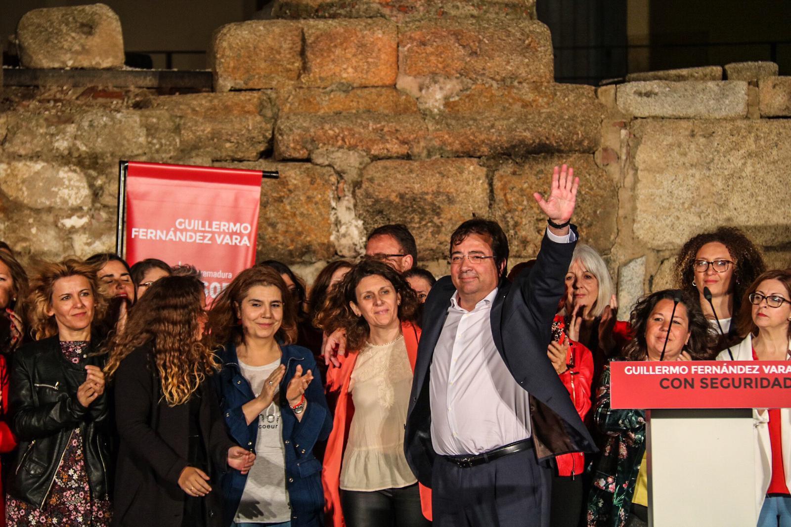 """Vara, PSOE: """"Extremadura debe movilizarse por sus derechos y saber que solo el PSOE asegura progreso, empleo y justicia social"""""""