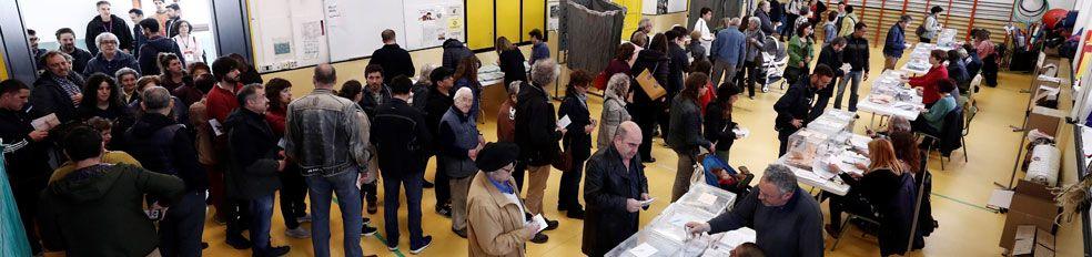 La participación en las municipales es del 50%, 10 puntos inferior a la del 28-A