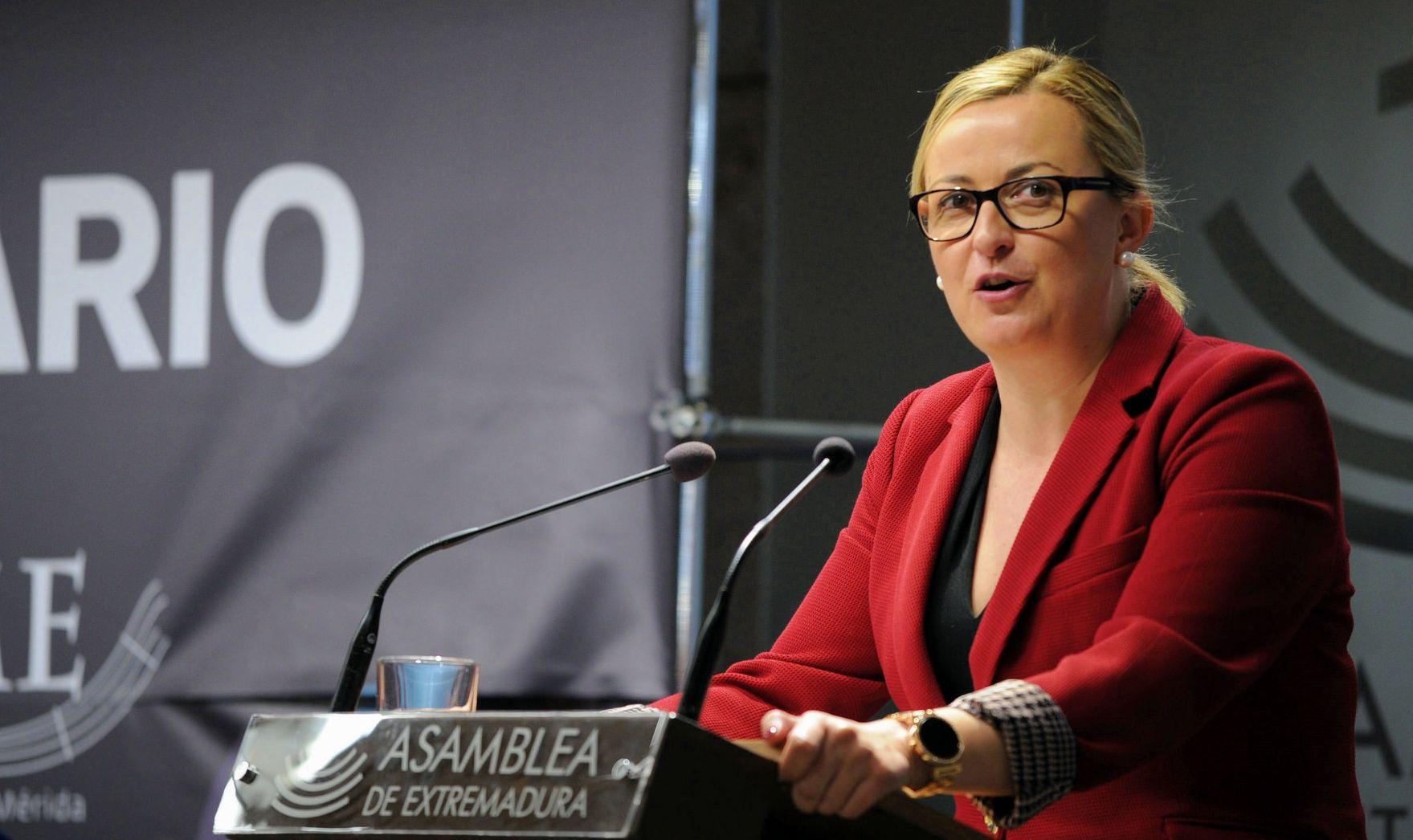 Blanca Martin repite Presidencia de la Aasamblea de Extremadura