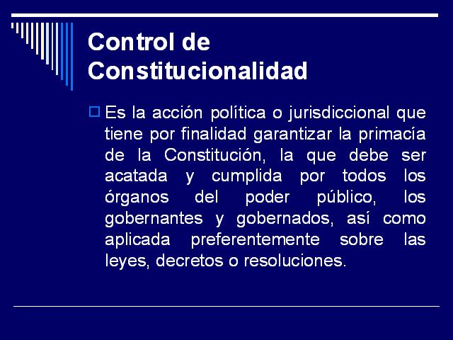 LA CONSTITUCIONALIDAD EN TIEMPOS DE PACTOS