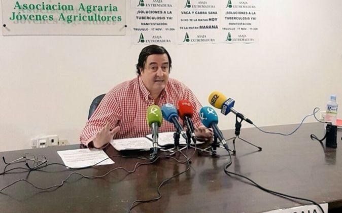 Asaja Extremadura recomendará no abonar la subida de salario impuesto por el laudo si los sindicatos van a la huelga