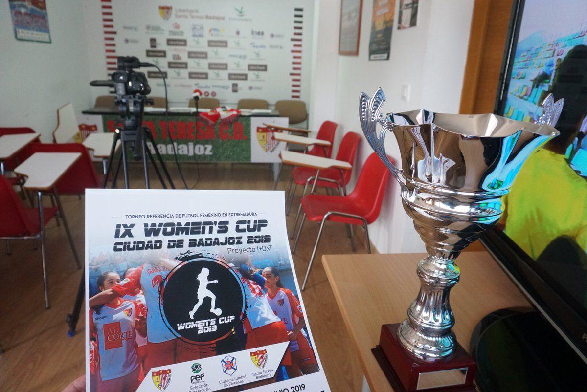 Presentada la IX Women's Cup, puesta en marcha por el Santa Teresa CD