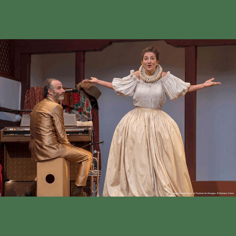 La Baltasara de Inma Chacón recupera a una de las grandes actrices del siglo XVII españolen el Clásico de Cáceres