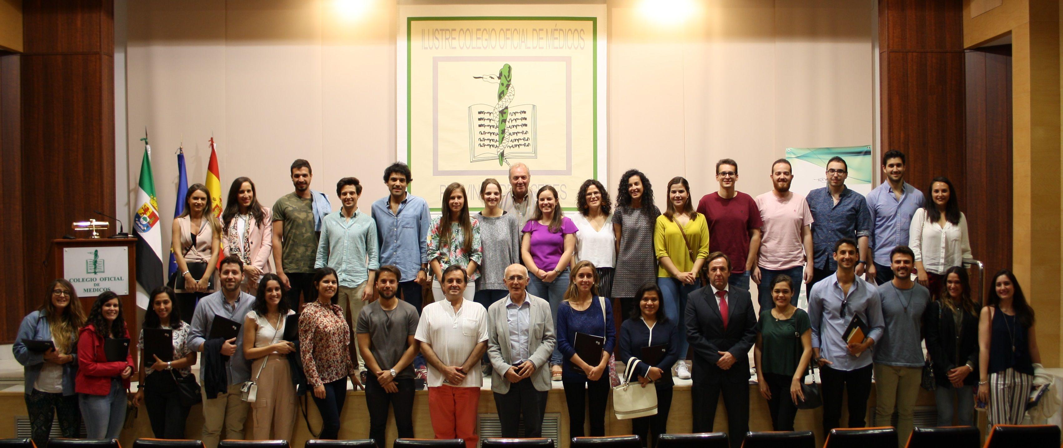 52 nuevos residentes médicos que han elegido Cáceres para formarse