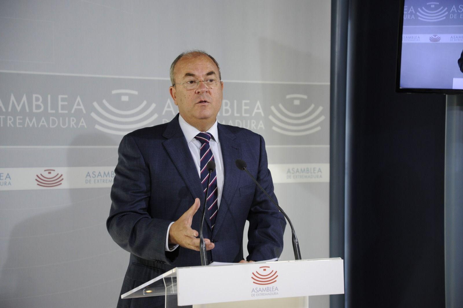 Monago anuncia una oposición seria, rigurosa y leal con los intereses generales del pueblo extremeño