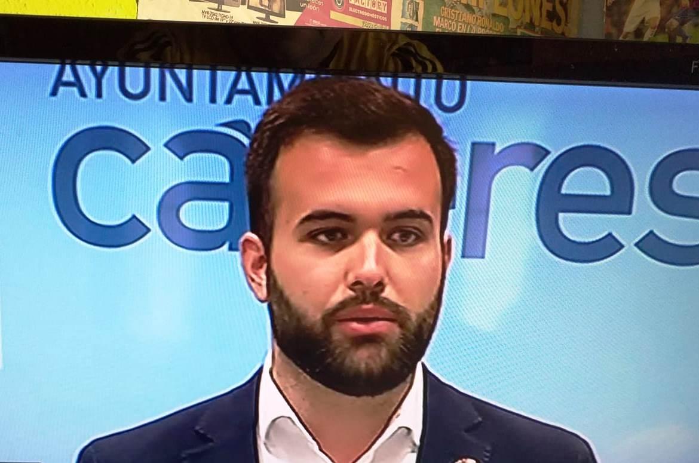 El socialista Luis Salaya será el alcalde de Cáceres por la abstención de Ciudadanos