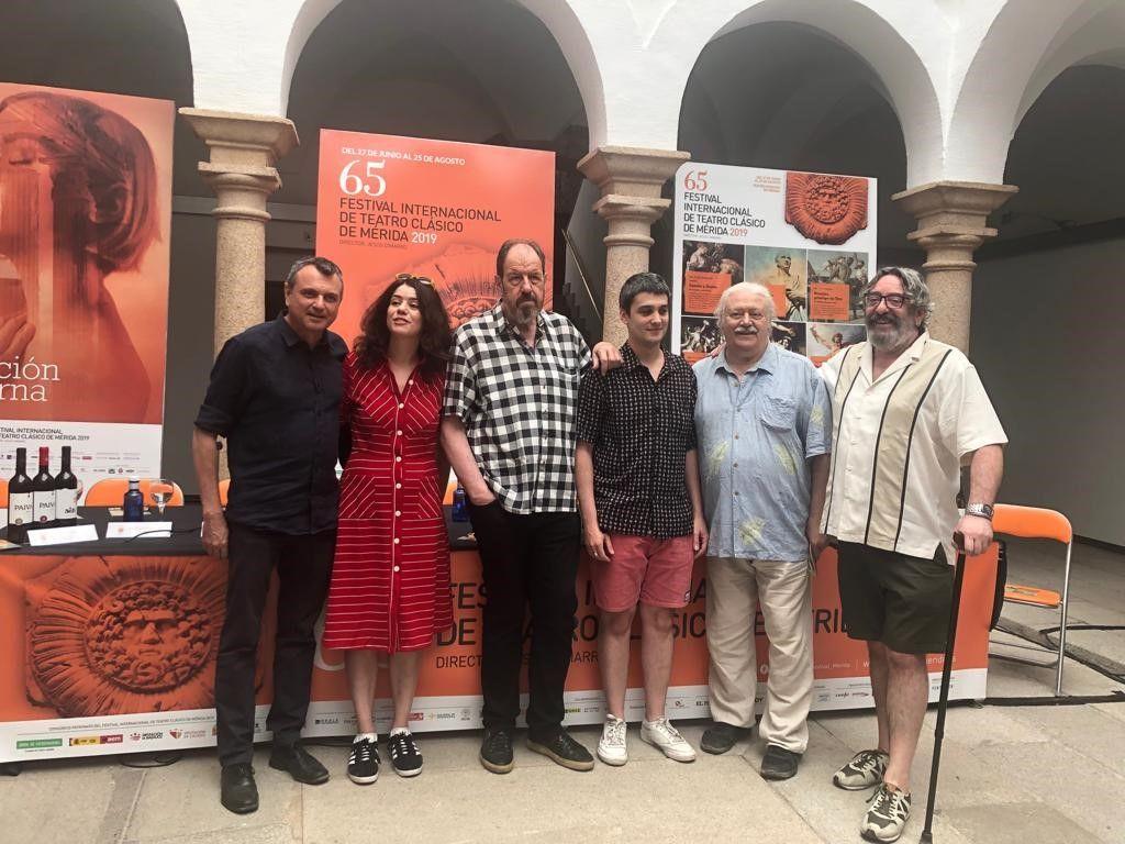 'Viejo amigo Cicerón' se representará en el Teatro Romano emeritense  del 3 al 7 de julio.