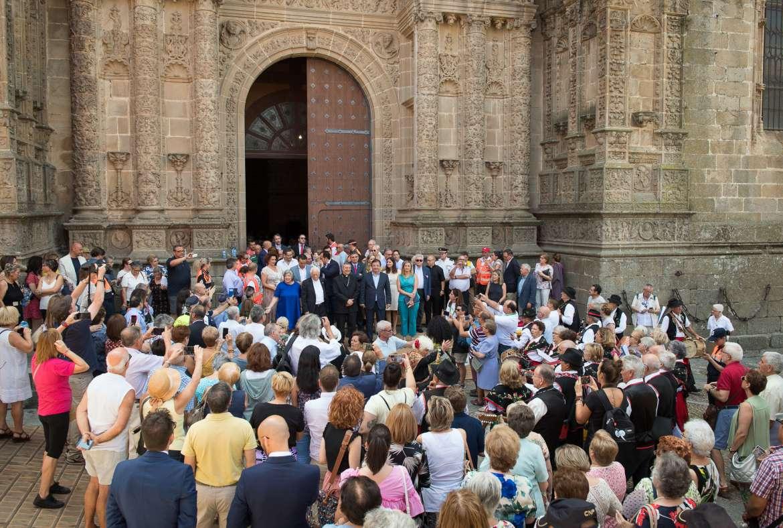 Mensajeros de la Paz celebra el Día de los Abuelos de España en Plasencia