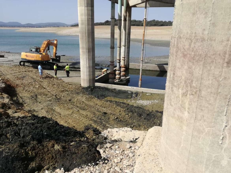 Se inician las obras de emergencia para solucionar los problemas de riego en Peraleda de la Mata