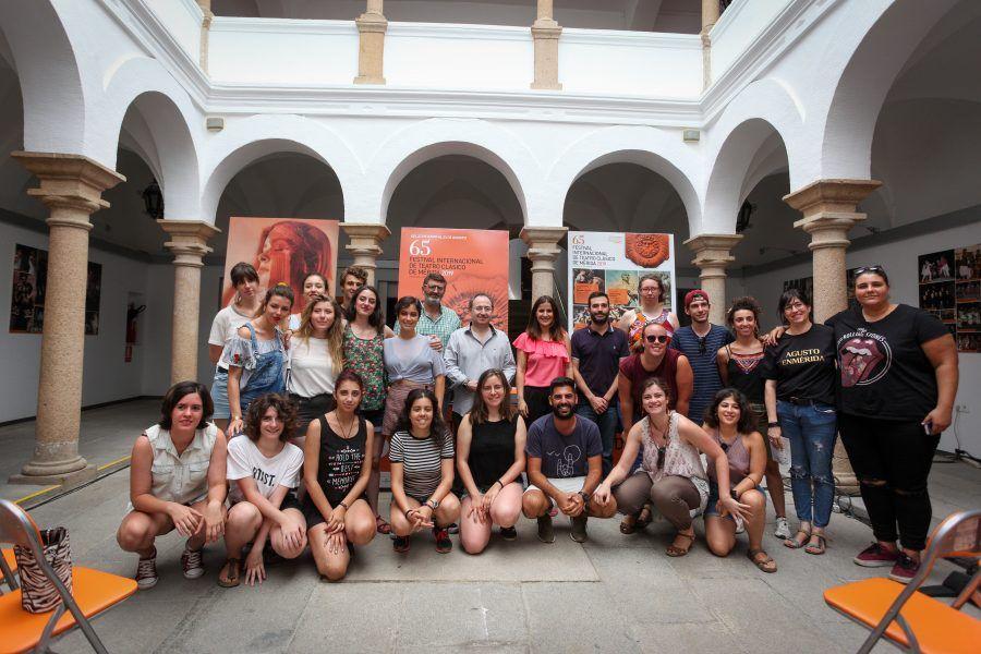 Veinte jóvenes de seis países conviven en el quinto campo de voluntarios de Festival de Mérida