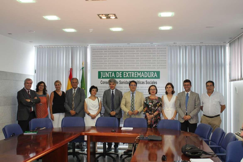 Cambios en las gerencias de varias Áreas de Salud en Extremadura