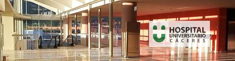 El servicio de Cirugía Vascular del Hospital Universitario de Cáceres, va a seguir cerrado de forma indefinida
