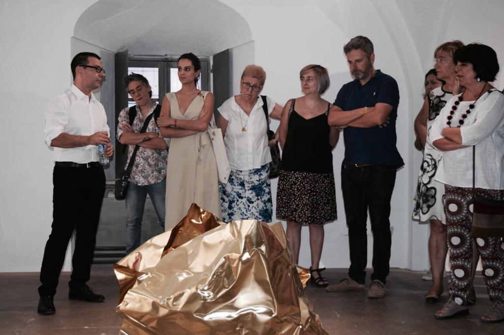 El artista extremeño Julián Gómez inaugura en el Museo de Cáceres su muestra Hacia el Jardín
