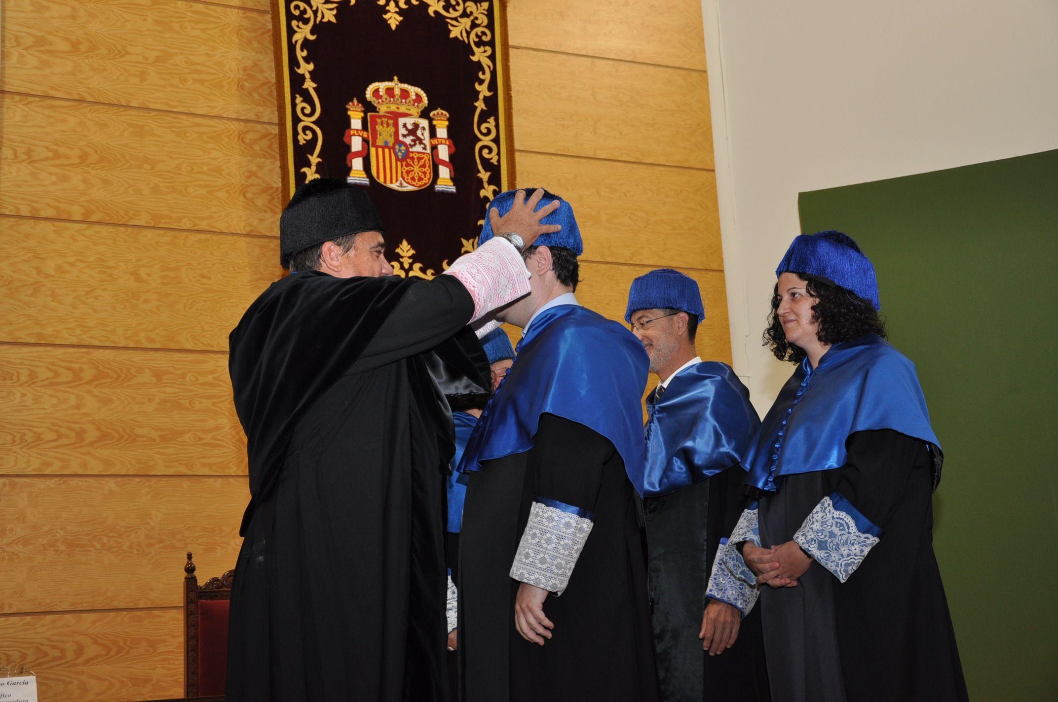 El Rector Antonio Hidalgo quiere una Universidad más útil para el desarrollo de Extremadura