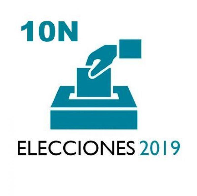 Todo preparado para la jornada electoral del domingo 10 de noviembre
