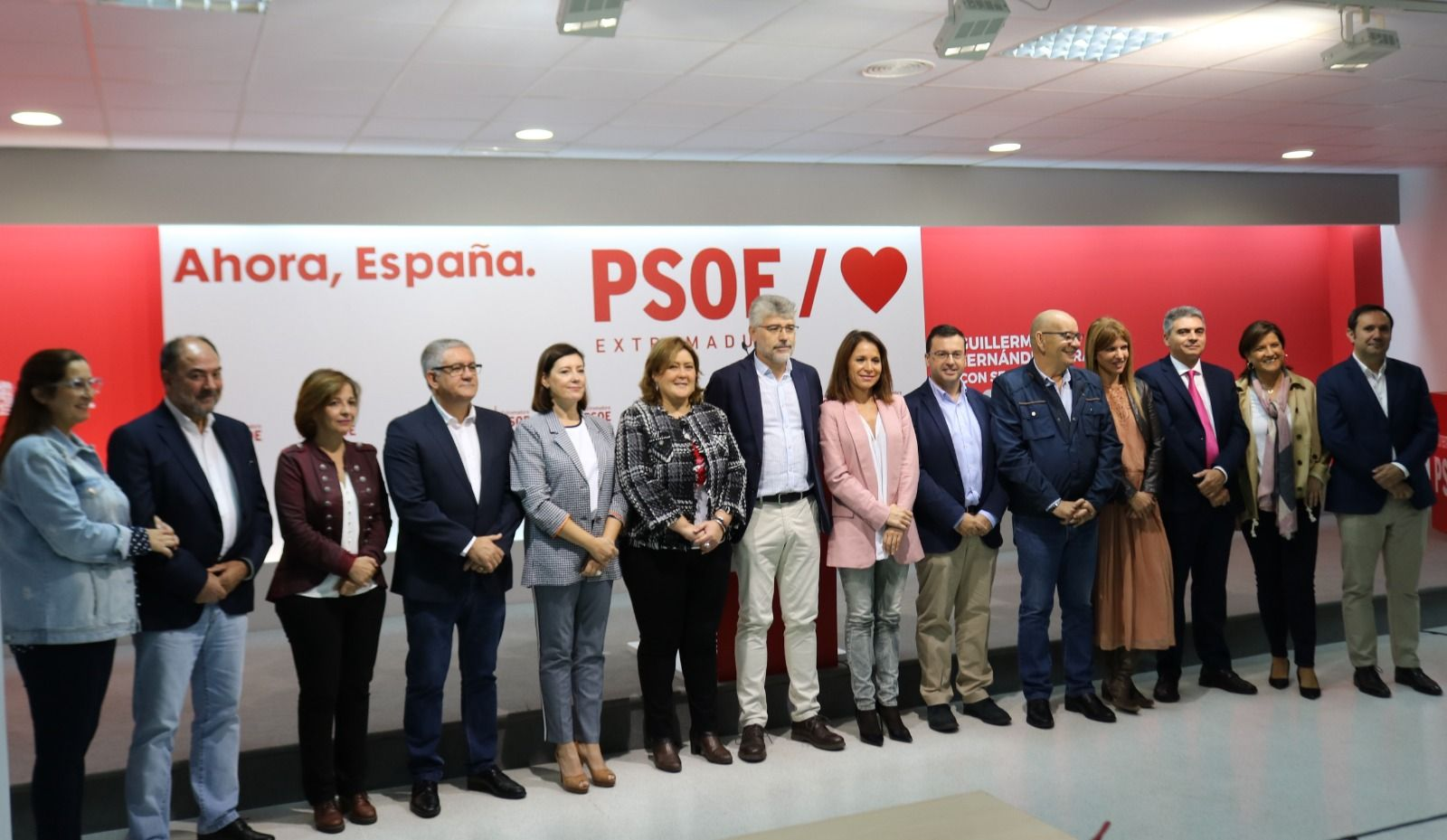 ELECCIONES 10N, PSOE: El 10 de noviembre los extremeños tienen que decidir entre avanzar o retroceder