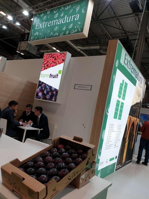 La Extremadura hortofrutícola, presente en la ineludible Fruit Attraction de Madrid